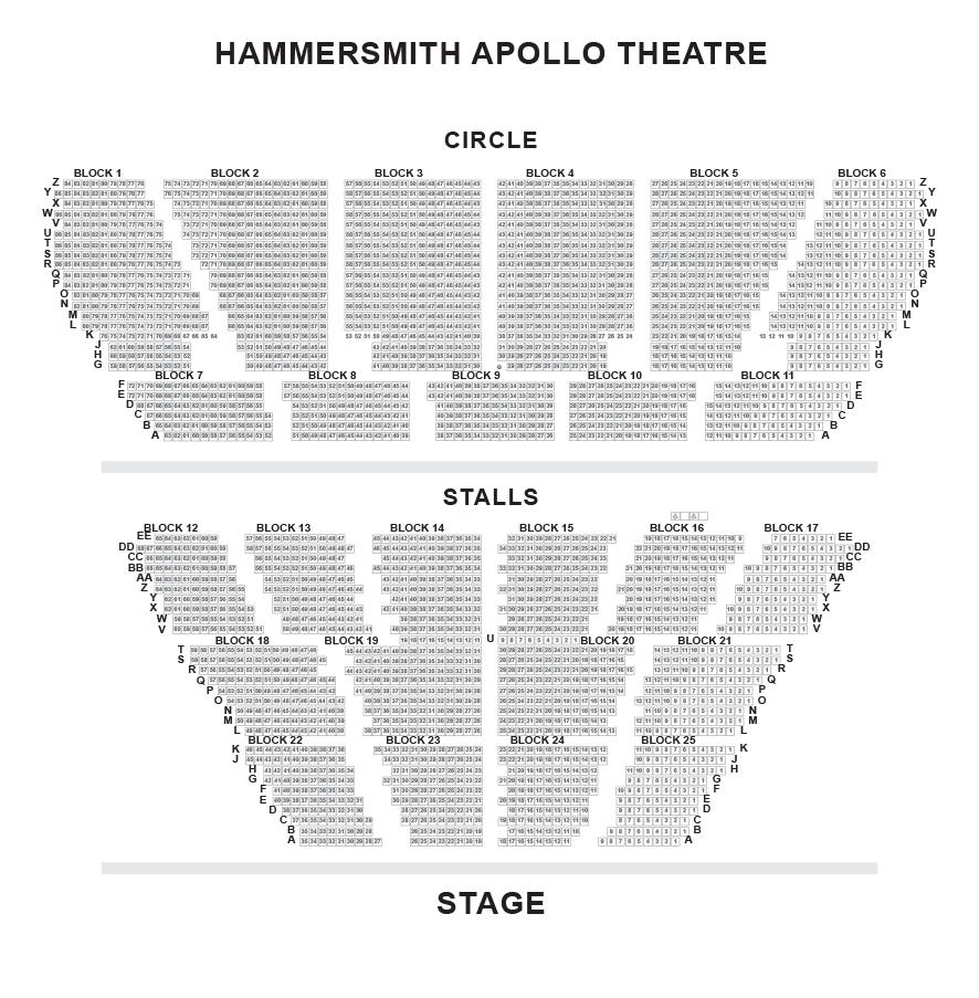 Hammersmith Apollo Eventim Seating Plan Nativity The