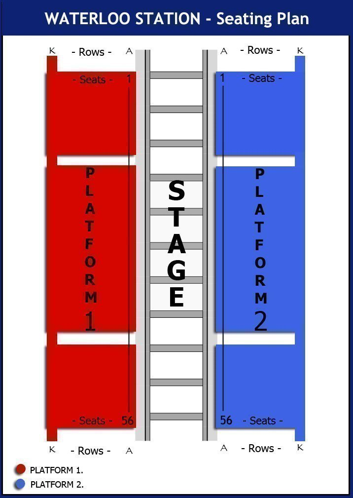 Waterloo Station Theatre Seating Plan London Box Office
