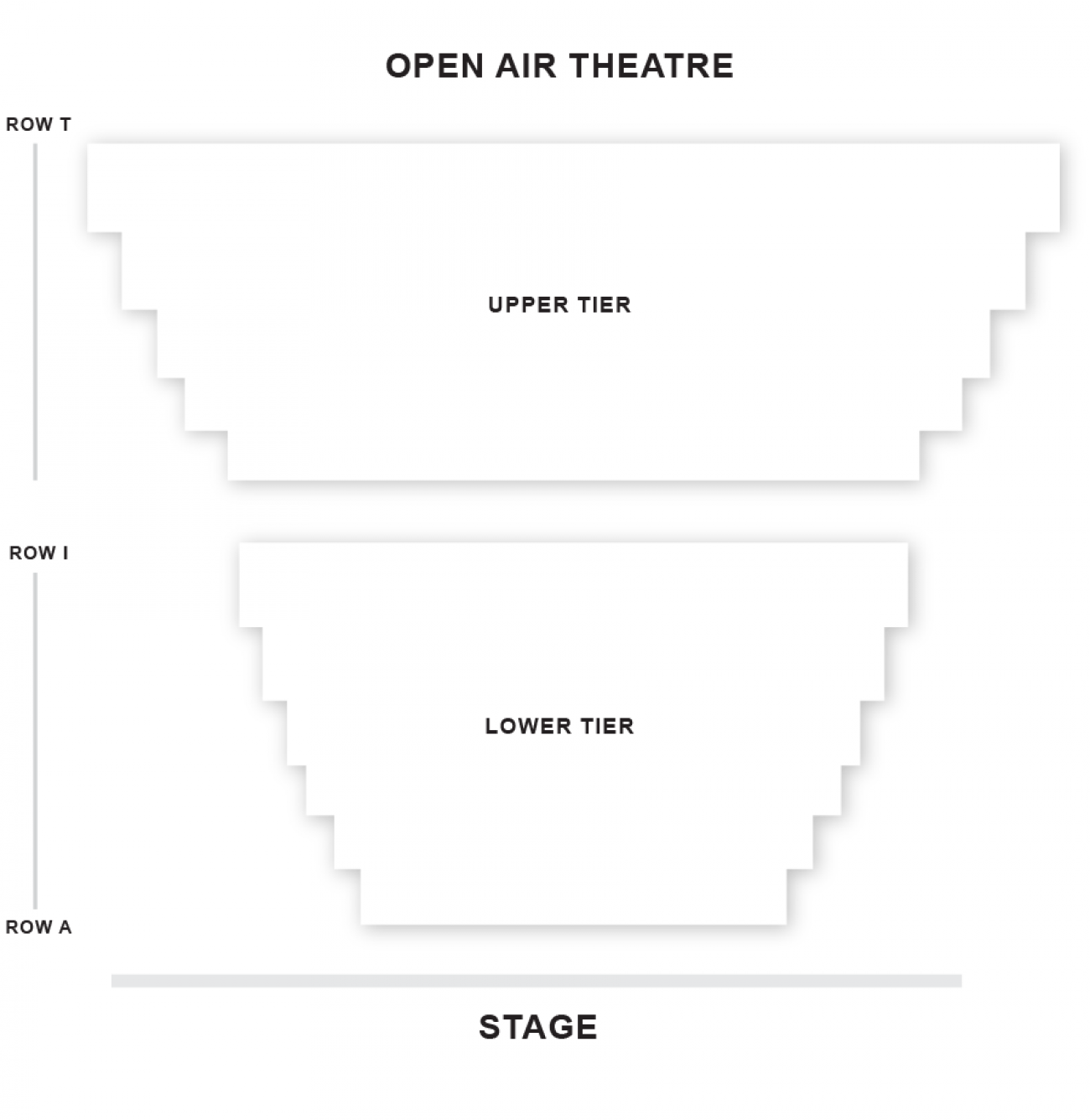 Open Air Seating plan