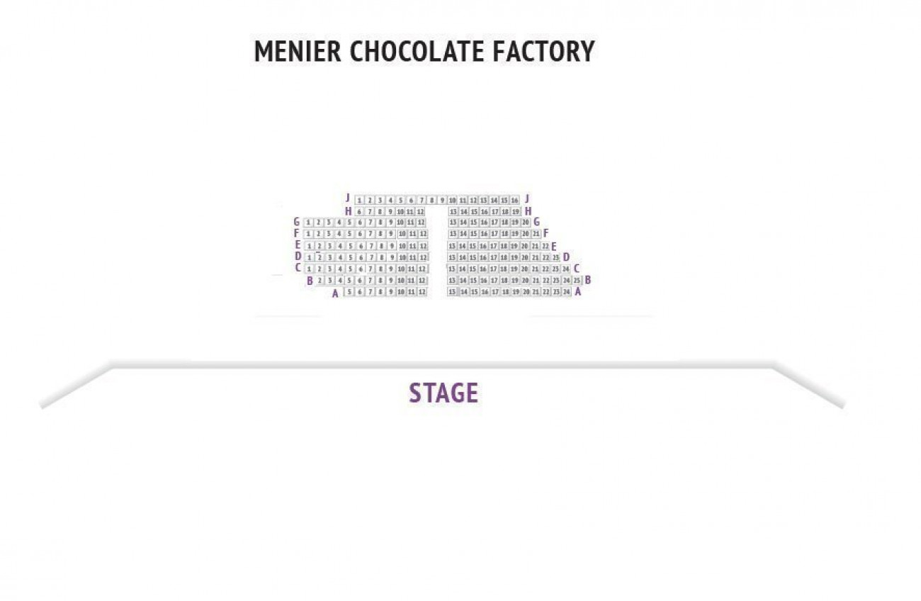 Menier Chocolate Factory Seating plan