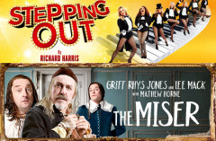 THE MISER & STEPPING OUT: Is it worth seeing three star shows?