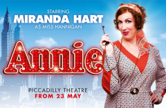 Review: ANNIE at the Piccadilly Theatre