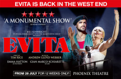EVITA is back and should be better than last time!