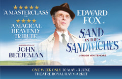 Edward Fox brings poetry to the West End
