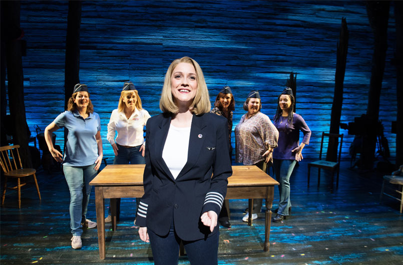 The West End company in Come From Away at the Phoenix Theatre - 2020 Credit Craig Sugden