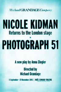 Photograph 51 starring Nicole Kidman comes to the West End